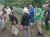 Pit Schultz with gardeners