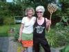 Cleaning team. Frau Puschel / Gabi Schaffner