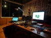 Nighttime studio