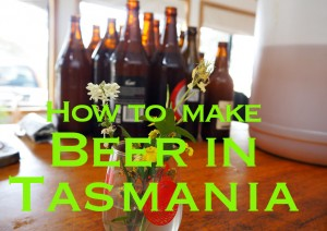 Beer in Tasmania
